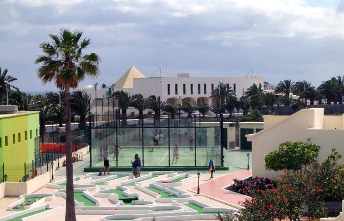 Alojamiento deportivo en Lanzarote; Club Santa Rosa