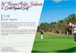 Torneo Meliá Salinas y Costa Teguise Golf