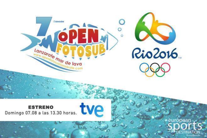 Los mares de Lanzarote en las televisiones nacionales