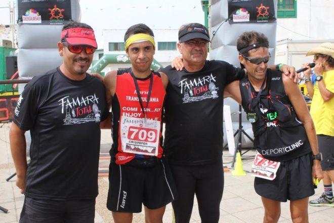 Cristofer Clemente y Nicola Brown vencen en Famara Total 2016