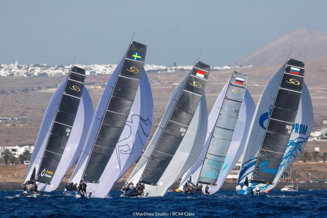 The worldwide competition RC44 begins in LanzaroteESD