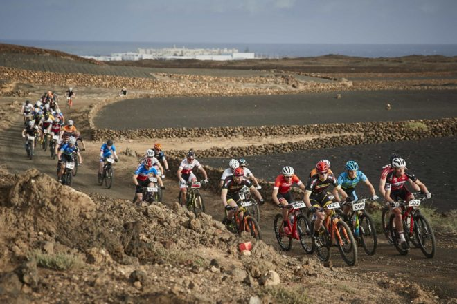 Sergio Mantecón and Isla Short are the winners of the 2018 Lanzarote 4 Stage MTB