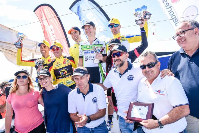 Ismael Ventura y Kataiza Sierra campeones de Ultrabike Lanzarote 2018