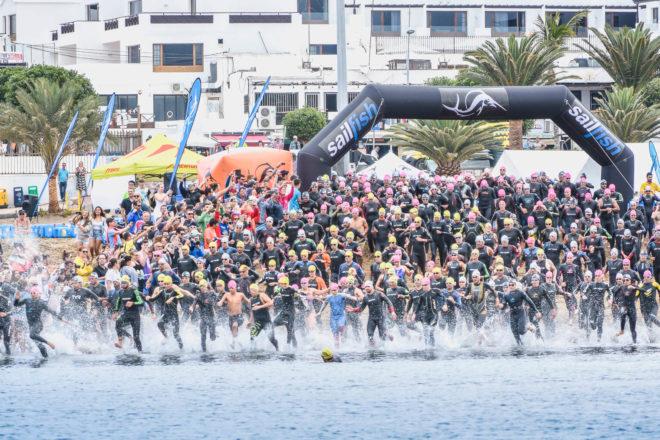 Un éxito en la 4ª edición del Sailfish Lanzarote Open Water, en aguas de Puerto del Carmen