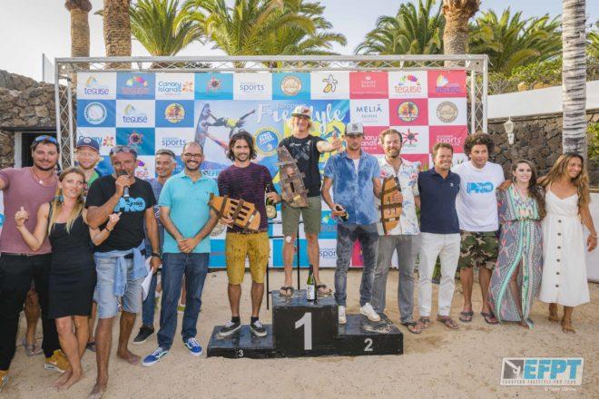 Yentel Caers vence en el EFPT Lanzarote 2018 celebrado en la Playa de las Cucharas