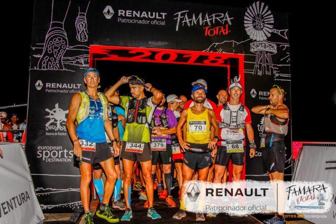 Alberto Peláez e Iballa Castellano son los ganadores de la Renault Famara Total 2018 en la distancia de 45 km