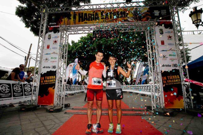 David Lutzardo y Gemma Arenas se imponen en la 8ª Haría Extreme Lanzarote