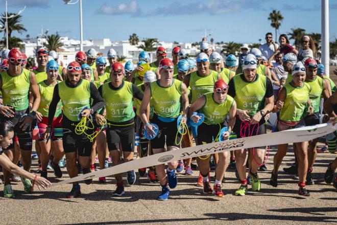 Mucha emoción en la segunda edición del Swimrun Lanzarote