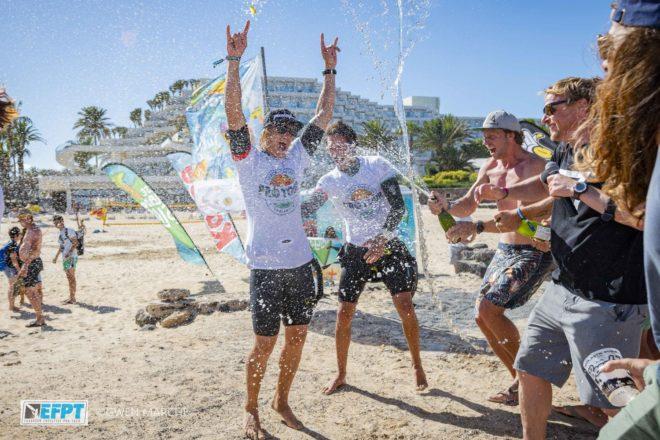 Yentel Caers se proclama campeón del European Freestyle Pro Tour 2019 con su victoria en el EFPT Lanzarote