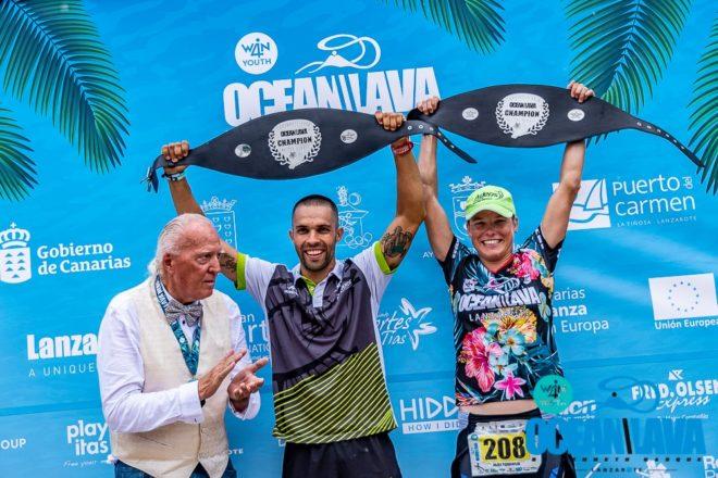 Luis Hernández y Alex Tonduer se imponen en el X Ocean Lava Lanzarote