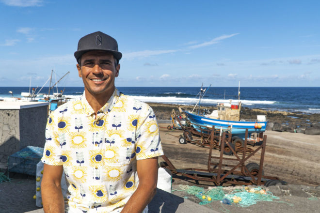 Franito Saénz, organizador del Quemao Class 2019, nos habla del evento y de la ola de reef más potente de Europa