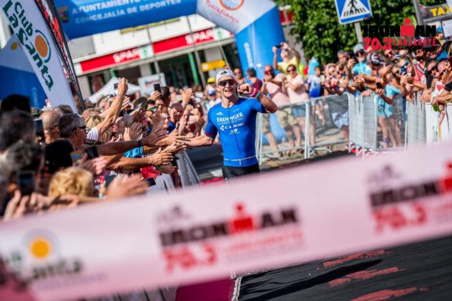 El alemán Frederic Funk y la británica Emma Pallant se proclaman campeones del Club La Santa IRONMAN 70.3 Lanzarote 2019