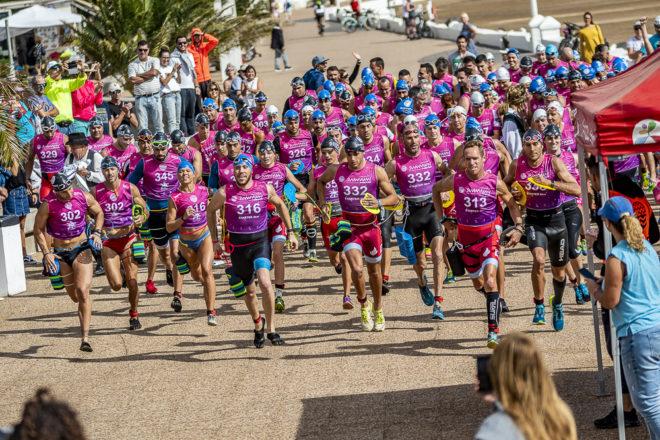 Éxito de participación en la 3ª Swimrun Lanzarote