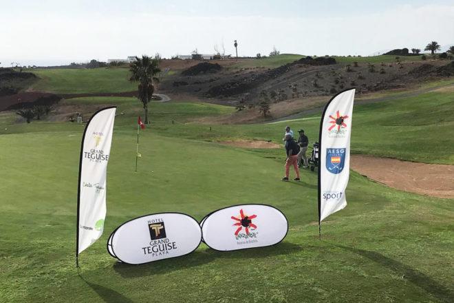 El IX Trofeo Grand Teguise Playa y la Gran Final Nacional Lanzarote Golf Tour AESGOLF ponen el broche de oro al calendario deportivo 2019