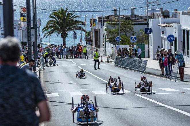Jonas Van de Steene es el gran triunfador de 11ª Vuelta Playa Blanca Handbike Lanzarote