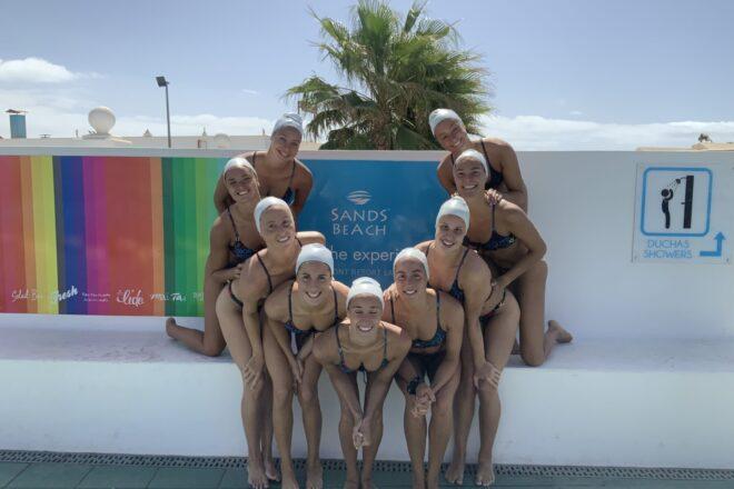 El clima de Lanzarote continúa enamorando a la Real Federación Española de Natación