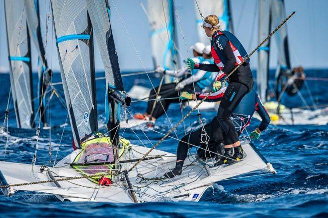 Canarias es la nueva sede para la clasificación olímpica europea y africana para las clases 49er, FX Y Nacra 17