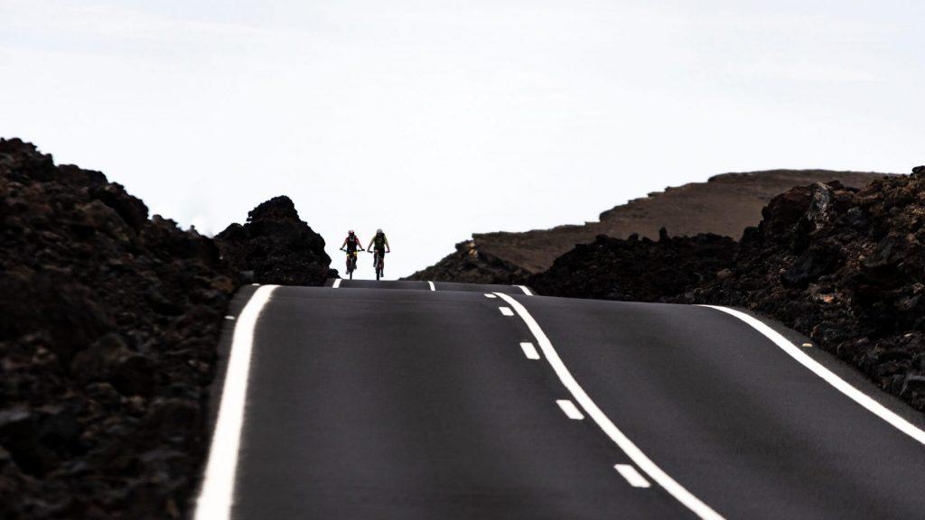 Carretera Timanfaya Lanzarote rutas en bicicleta European Sports Destination