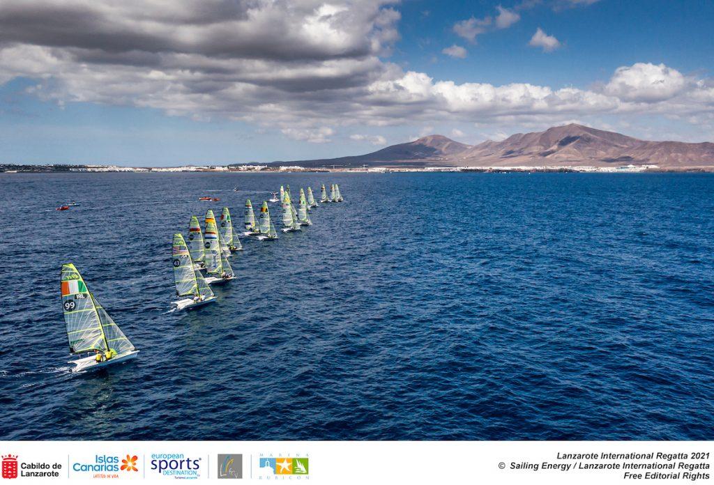 Lanzarote International regatta - Aerea Nacra 17 - Turismo Lanzarote
