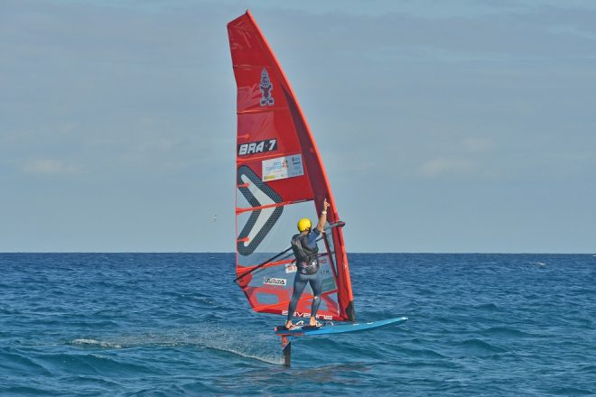 El brasileño Mateus Isaac fue el más rápido en la Lanzarote Foil Challenge