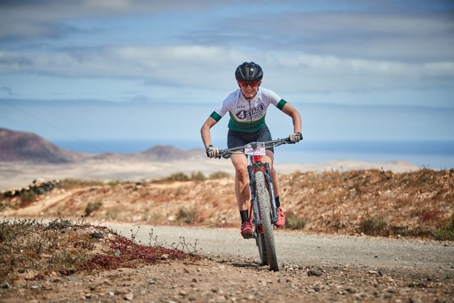 4 Stage MTB Race Lanzarote; sporting spectacle and health safety