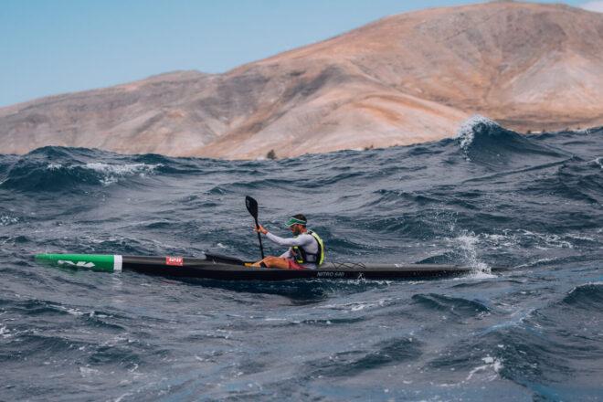 Lanzarote ofrece 27 km de espectáculo al Mundial de Kayak de Mar