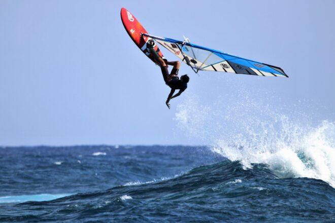 Un verano de deporte, viento y mar en Lanzarote