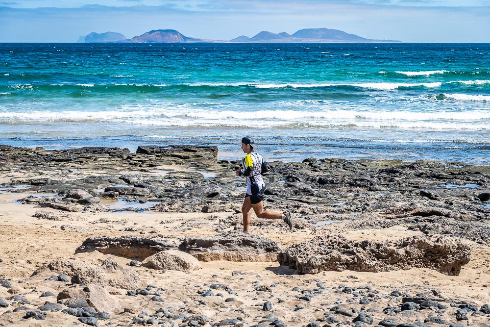 recorrido en imágenes Famara Total 2021 - Turismo Lanzarote