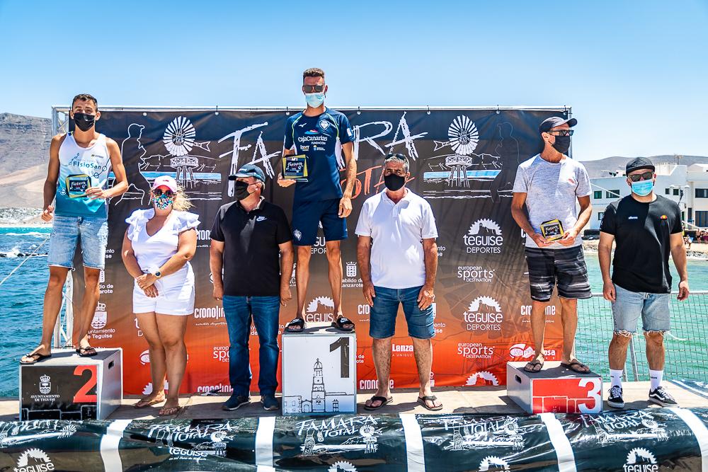 Podium 7,5km Famara Total 2021 - Turismo Lanzarote