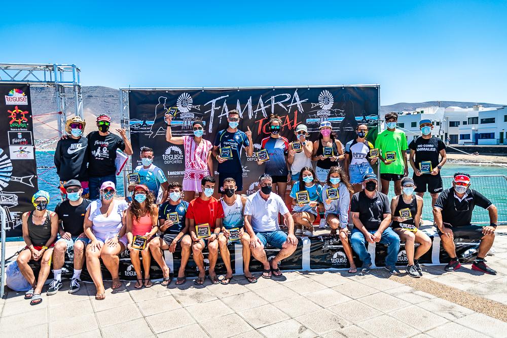 Podium general Famara Total 2021 - Turismo Lanzarote