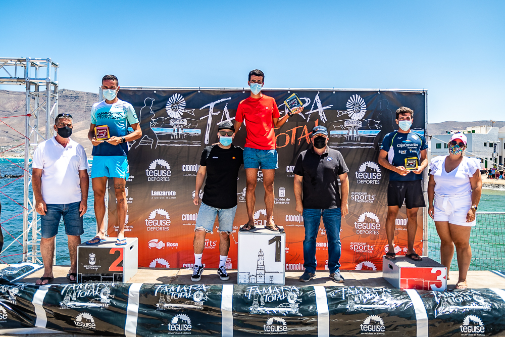 Podium 15 km famara total 2021 - Turismo Lanzarote