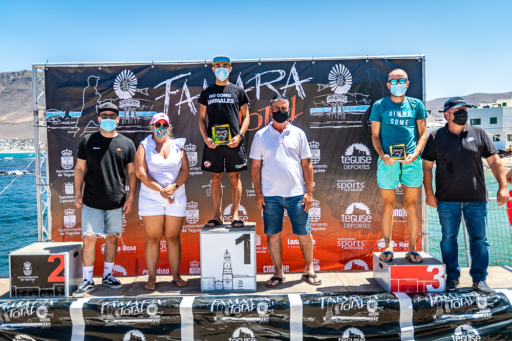 Podium masculino 40km Famara Total 2021 - Turismo Lanzarote