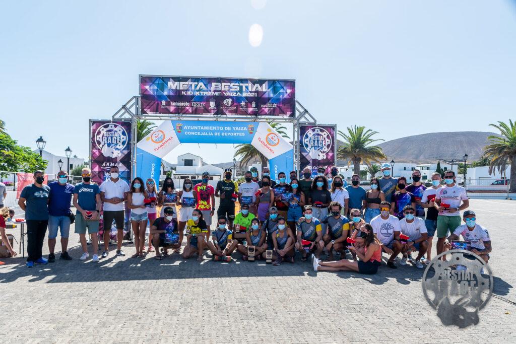 premiados Bestial Race Yaiza 2021 - Lanzarote ESD